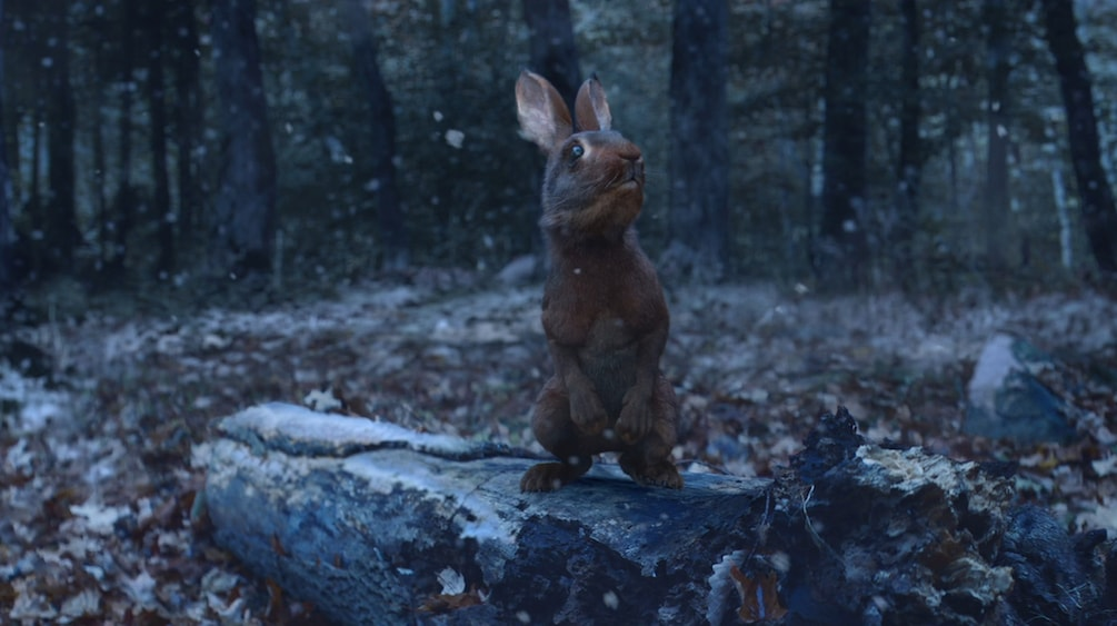 Rendered VFX Rabbit from New York Lottery TV Advert